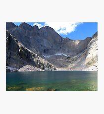 Chasm Lake Photographic Print