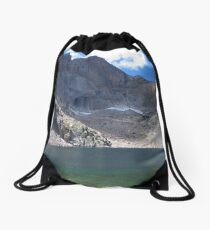 Chasm Lake Drawstring Bag