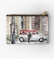 A Beautiful Taxi In Budapest Studio Pouch