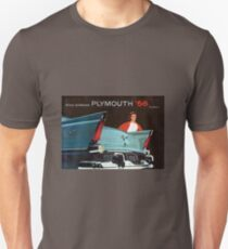 AUTOMOBILE / 1956 Plymouth  Unisex T-Shirt