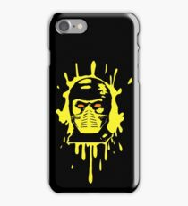 Scorpion Splatter iPhone Case/Skin