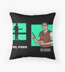 Cyril Figgis, Archer Throw Pillow