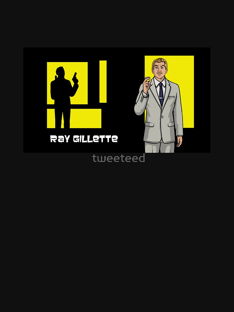 ray gillette archer unisex t shirt by tweeteed redbubble