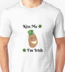 Potato - Kiss Me, I'm Irish Unisex T-Shirt