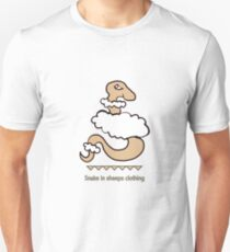Snake in sheeps clothing Unisex T-Shirt