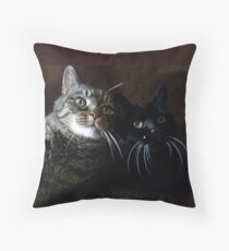My Two Throw Pillow