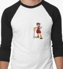 SORA Men's Baseball ¾ T-Shirt