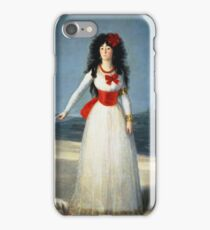 Francisco Goya - The Duchess Of Alba iPhone Case/Skin