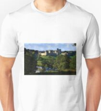 Sunlight on Alnwick Castle Unisex T-Shirt
