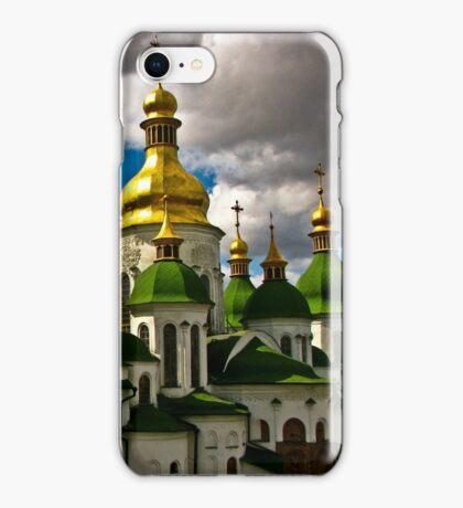 Domes of Saint Sophia Cathedral  iPhone Case/Skin