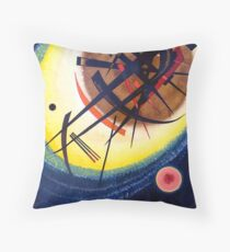 Wassily Kandinsky In the Bright Oval Throw Pillow
