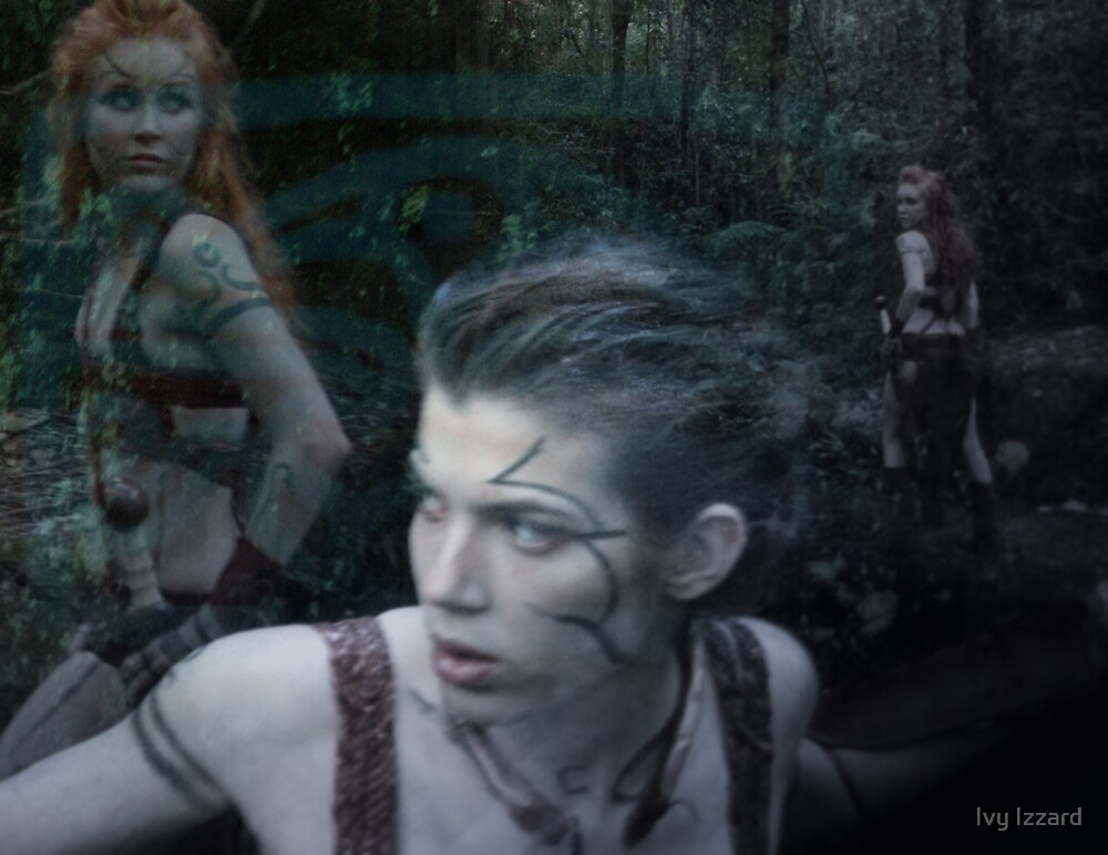 Woad 12 by Ivy Izzard