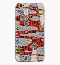 Tiger Stripe Abstract Artwork iPhone Case