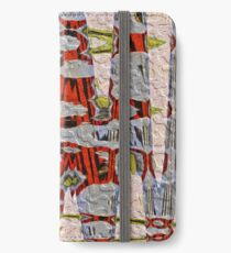 Tiger Stripe Abstract Artwork iPhone Wallet/Case/Skin