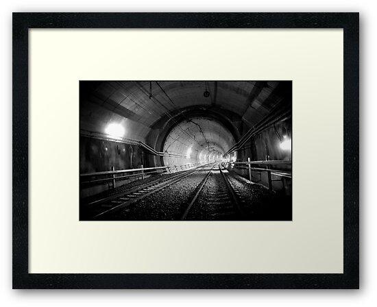 Urban Landscape # 29 Green Square Tunnel by Juilee  Pryor