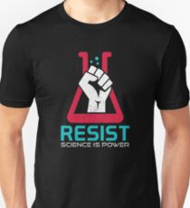 Science March - Resist, March For Science On Earth Day T-Shirt