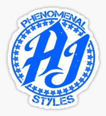 Phenomenal AJ Styles Sticker