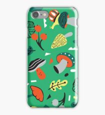 abstract mushroom  iPhone Case/Skin