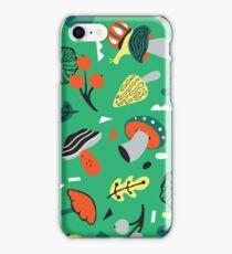 abstract mushroom  iPhone Case/Skin