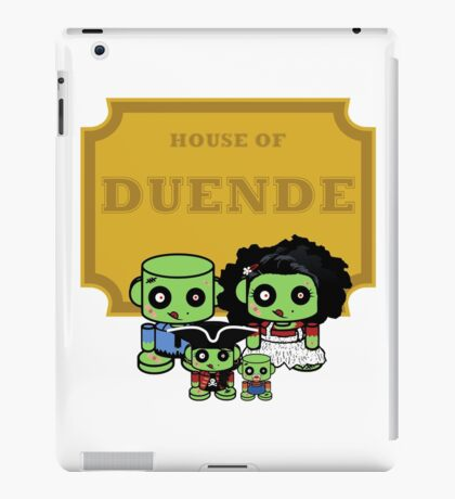 O'BABYBOT: House of Duende Family iPad Case/Skin
