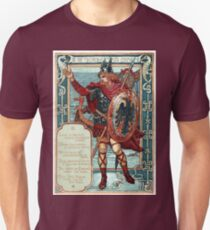 Walter Crane Columbia's Courtship The Norseman Unisex T-Shirt