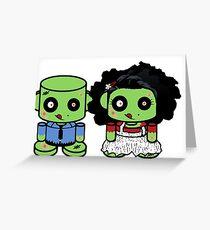 Thato & Ella Duende O'BABYBOT Toy Robot 1.0 Greeting Card