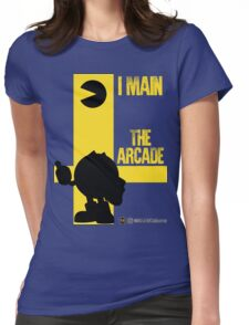 The Arcade (Black) Womens Fitted T-Shirt