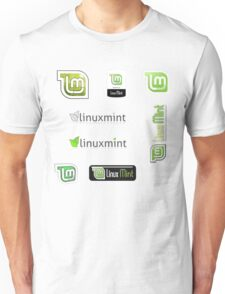 linux mint sticker set Unisex T-Shirt