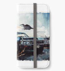 Übernatürlich iPhone Flip-Case/Hülle/Skin