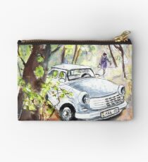 A White Trabant In Budapest Studio Pouch