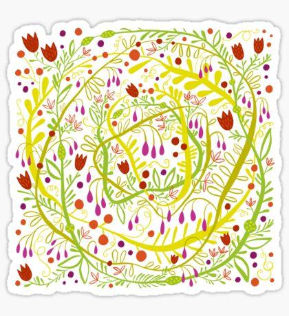 Garden Gone Wild Sticker