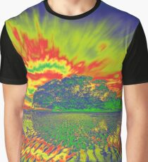 Psychedelic View Graphic T-Shirt