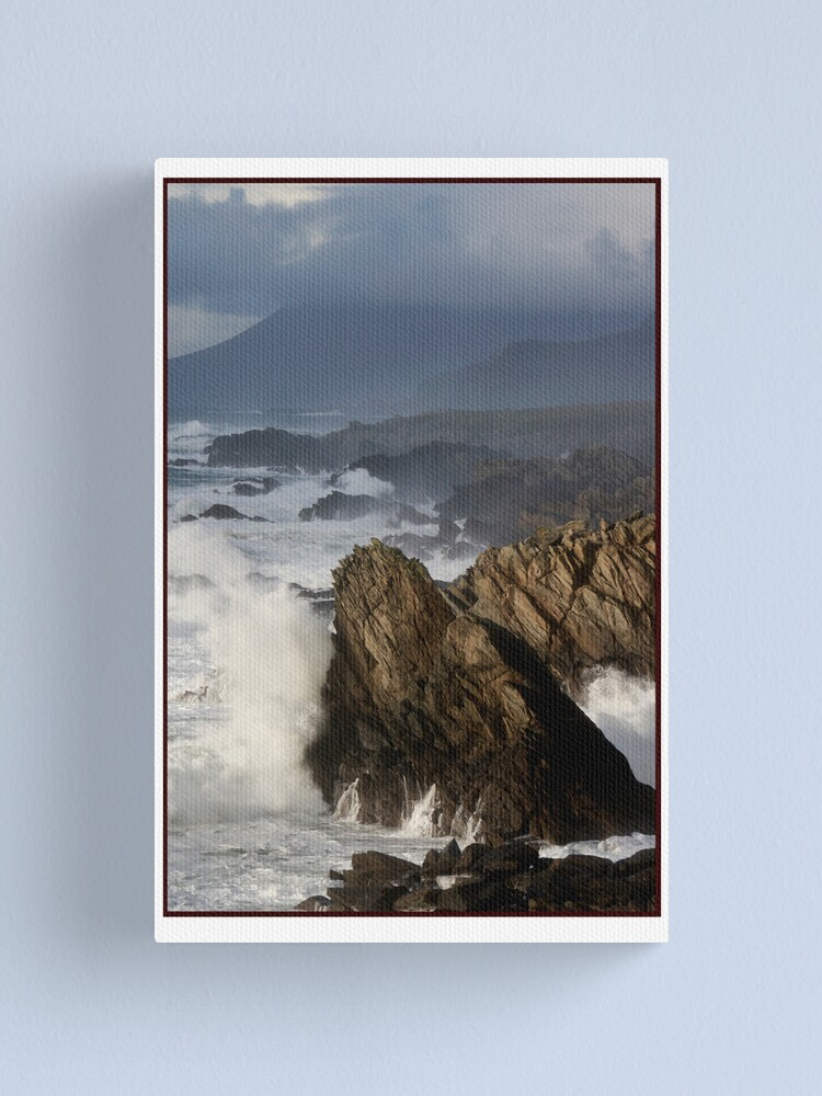 Alternate view of The Atlantic meets Ireland Canvas Print