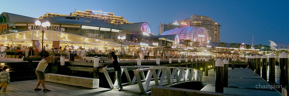 Darling Harbour by champion