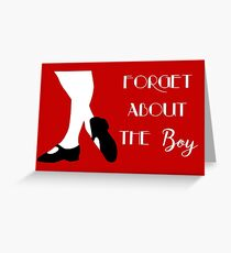 Thoroughly Modern Millie - Forget About the Boy Greeting Card