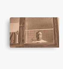 Prisoner in the Mirror Canvas Print