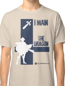 The Dragon - Male (White) Classic T-Shirt