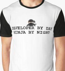 ninja developer Graphic T-Shirt