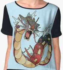 Gyarados - Pokemon Chiffon Top