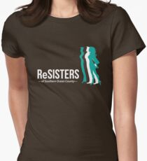 ReSisters of Southern Ocean County merchandise Womens Fitted T-Shirt