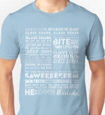 Glass Shark Shirt Unisex T-Shirt