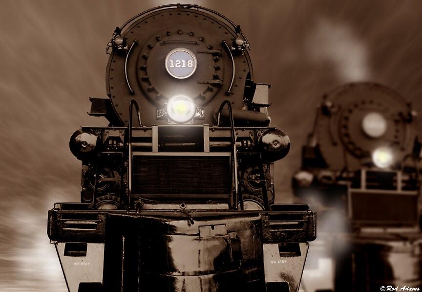 Trains by Rod  Adams