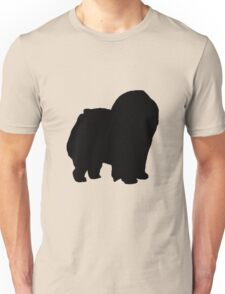 chow chow silhouette Unisex T-Shirt