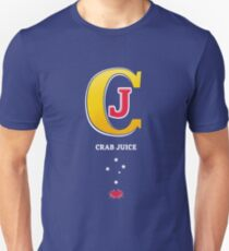 Crab Juice Down Under Unisex T-Shirt