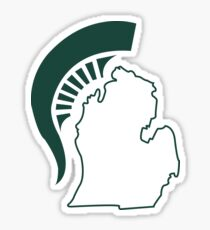 Michigan State Sticker Sticker