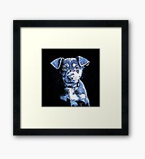 Puppy Dog Graphic Novel Drawing Framed Print