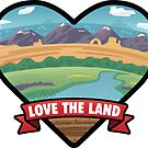 Love the Land by BlueAsterStudio