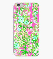 Lilly Pulitzer North Carolina Print Inspired  iPhone Case