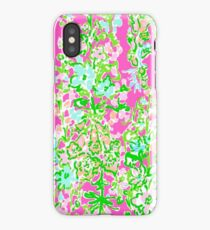Lilly Pulitzer North Carolina Print Inspired  iPhone Case/Skin