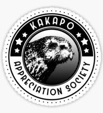 Kakapo Appreciation Society Sticker